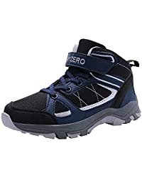MAYZERO Kids Shoes Winter Ankle Boots Non-Slip Tennis Shoes Running Sneakers Boys Girls