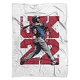 500 LEVEL's Jason Kipnis Soft And Warm Fleece Blanket For Cleveland Baseball Fans - Jason Kipnis JK22 R