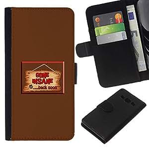 // PHONE CASE GIFT // Moda Estuche Funda de Cuero Billetera Tarjeta de crédito dinero bolsa Cubierta de proteccion Caso Samsung Galaxy A3 / Suit /