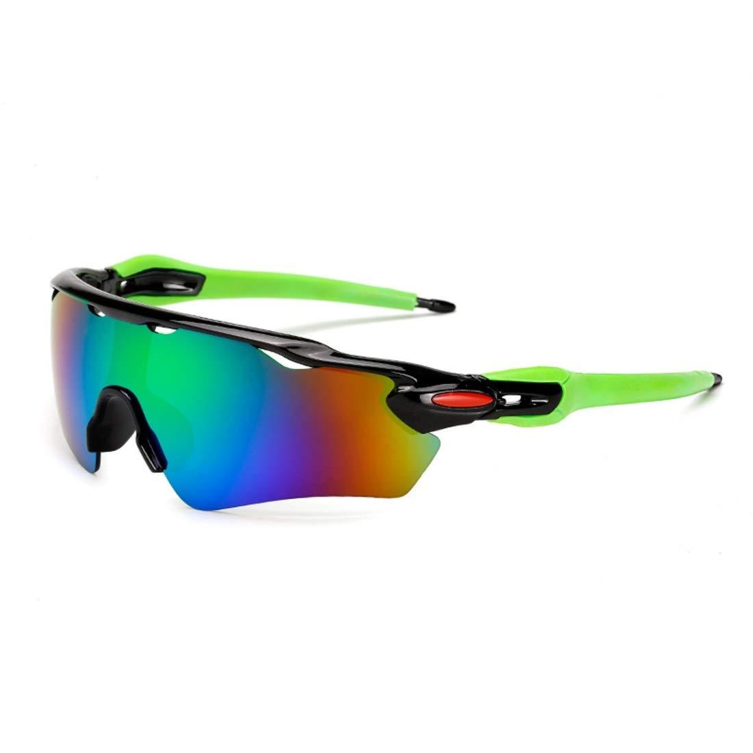 BAOYIT Outdoor Sports Men and Women Sun Windproof Dustproof Riding Glasses Mountain Bike (Color : A) by BAOYIT