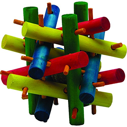 Kaytee Nut Knot Knibbler Wooden Chew Toy