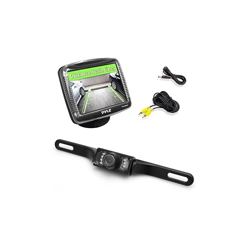 Pyle Backup Rear View Car Camera Monitor
