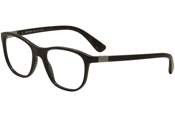 Prada PR29SV Eyeglass Frames UF71O1-52 - Brown PR29SV-UF71O1-52 at ...