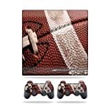MightySkins Protective Vinyl Skin Decal Cover for Sony Playstation 3 PS3 Slim skins + 2 Controller skins Sticker Football