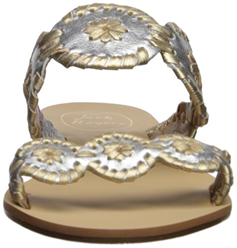 Gold Jack Silver Dress Lauren Women's Rogers Sandal FqxrFY7