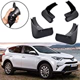 Automotive : SPEEDLONG 4Pcs Car Mud Flaps Splash Guard Fender Mudguard for Toyota RAV4 2016 2017 2018-Up