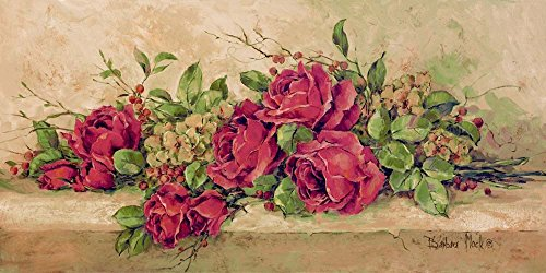 Roses to Remember by Barbara Mock Art Print, 32 x 16 inches
