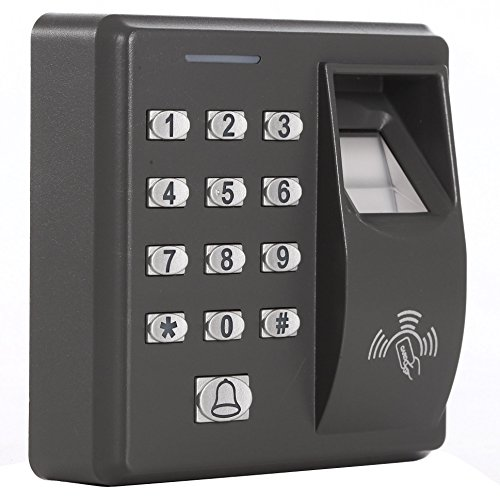 UHPPOTE 125KHz RFID Card Keypad Fingerprint Access Control System ()