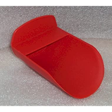 Tupperware Rocker Scoop for Canisters and Modular Mates in RED by Tupperware