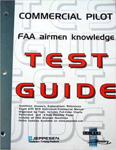 0b8a2ebb076 Commercial Pilot FAA Airmen Knowledge Test Guide  For Computer Testing by  Jeppesen (2002-06-01) Paperback  Amazon.com  Books