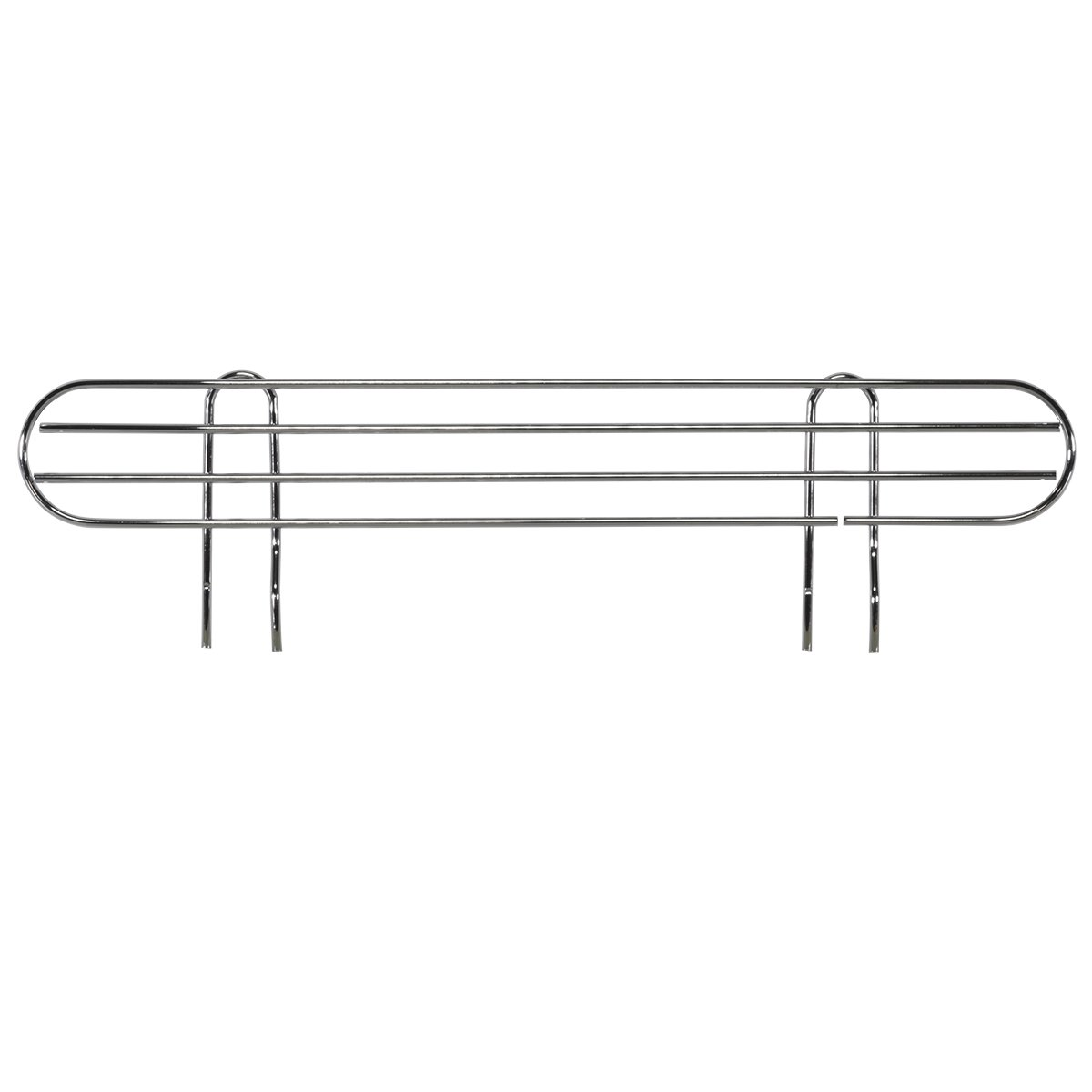 AKRO-MILS AWLEDGE24 - Ledge for 24-Inch Chrome Wire Shelf System - Pack of 4