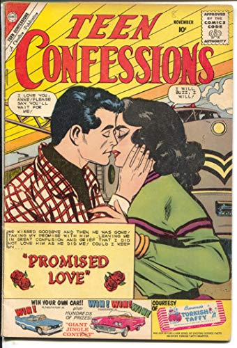 (Teen Confessions #8-1960-Charlton-railroad cover-