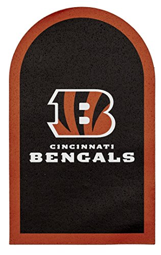 Applied Icon NFL Cincinnati Bengals Mailbox Door Logo (Cincinnati Bengals Nfl Mailbox)