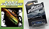 Blu-Ray & Die Cast Car Literally The Fastest Bundle: Fast And Furious The Original (Blu-Ray + DVD) & Hot Wheels Ford GT40 Fast & Furious 3/6 1:64 Scale Blue W/ White Racing Stripes FAST FIVE Too Fast
