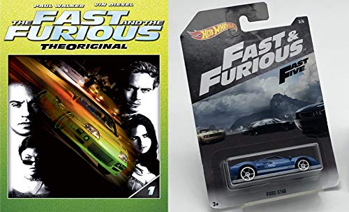 - Blu-Ray & Die Cast Car Literally The Fastest Bundle: Fast And Furious The Original (Blu-Ray + DVD) & Hot Wheels Ford GT40 Fast & Furious 3/6 1:64 Scale Blue W/ White Racing Stripes FAST FIVE Too Fast