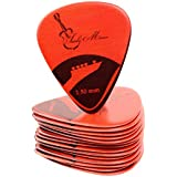 Tanbi Music Premium Celluloid Guitar Picks, P214 – 15 Extra Heavy (1.5mm) Pack