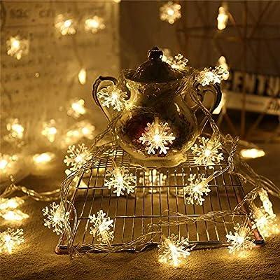 DC CLOUD Luces Jardin Decorativas Cortinas De Luces Led Decorativas Luces para decoración Diwali Luces Decorativas Luces de Hadas para Dormitorio 3m: Amazon.es: Hogar