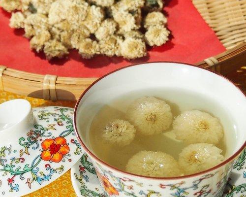Taiwan produced organically grown chrysanthemum tea white (pile white chrysanthemum) 60g