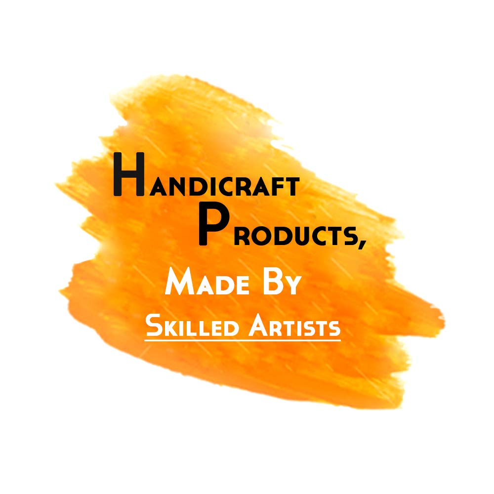 IndianShelf Handmade 16 Piece Wooden Purple Square Artistic Drawer Knobs/Cabinet Pulls by Indian Shelf (Image #6)