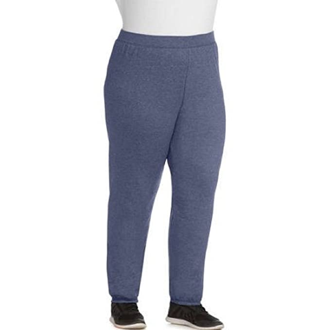 dbaaf18a37a Image Unavailable. Image not available for. Color  Just My Size Women s Plus -Size Fleece Sweatpants ...