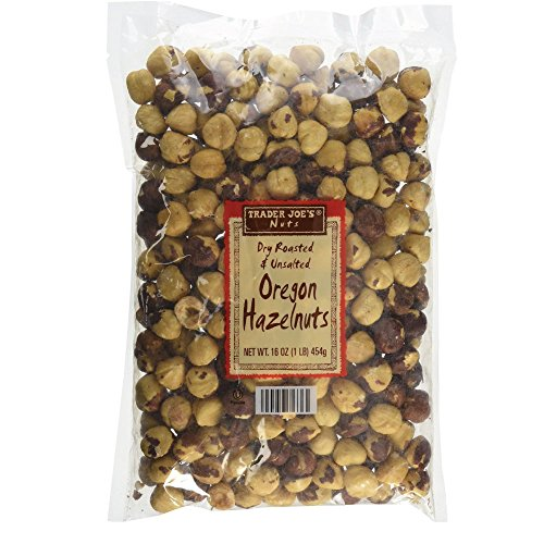 Trader Joe's Nuts Dry Roasted & Unsalted Oregon Hazelnuts - 16 oz