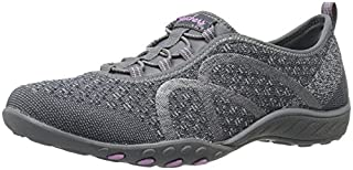 Skechers Sport Women's Breathe Easy Fortune Fashion Sneaker,Charcoal Knit,8 M US (B01HT8YE48) | Amazon price tracker / tracking, Amazon price history charts, Amazon price watches, Amazon price drop alerts