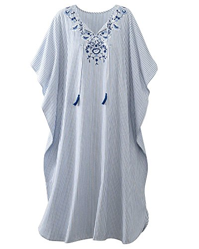 Embroidered Caftan - 1