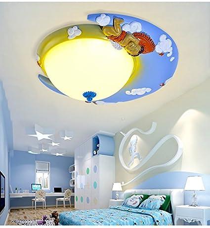 DKSJ LED Lámpara de techo para Niños del Mediterráneo la ...
