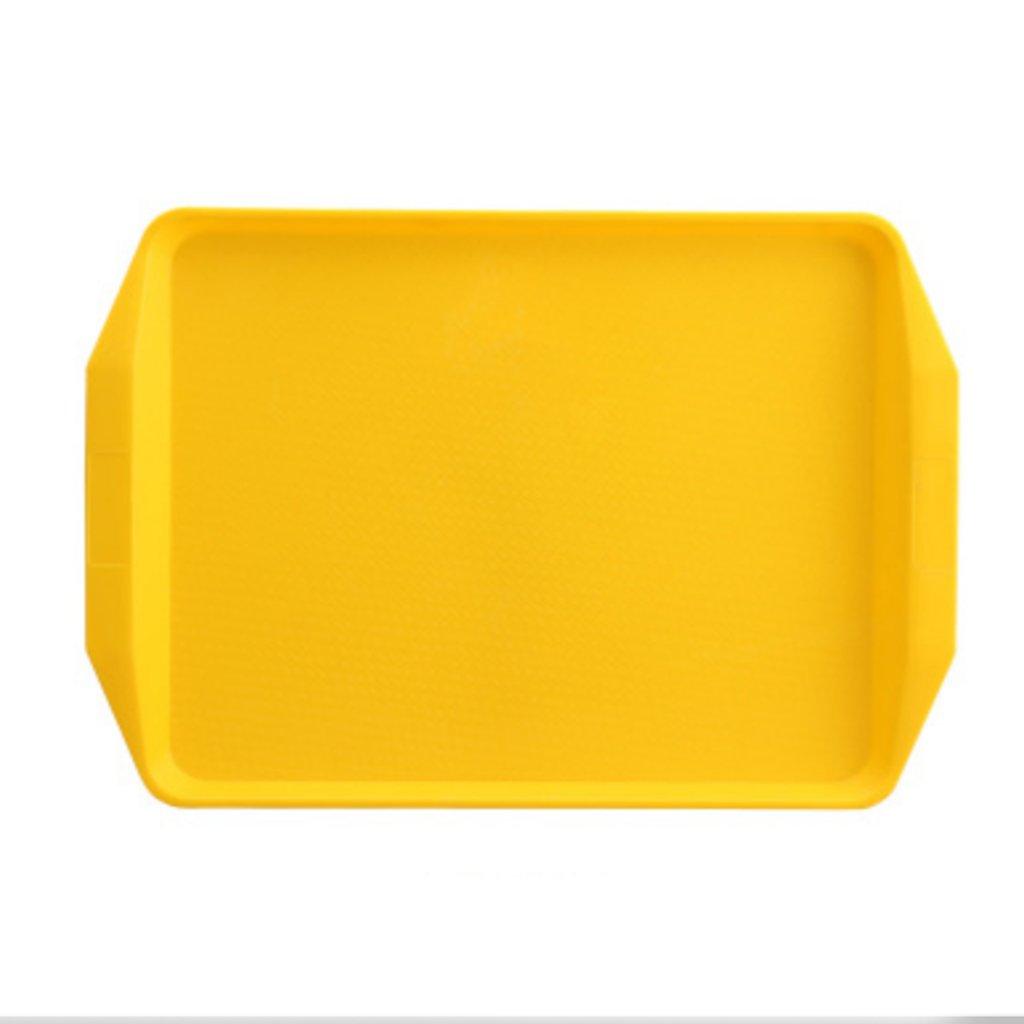 Kaxima Plastic, Tray, Rectangle, Thicken, Drop, Hotel, Restaurant Tableware, Tea Tray, Cake Bread Tray