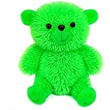 kritika Toys & Gifts Flashing Light Puffer Squidgy Sensory Teddy Bear (Random Colour)