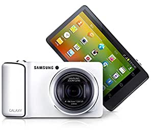 Samsung Galaxy Camera EK-KC120/EKGC100 8GB Android OS, 4.1 Jelly Bean (White) (International Model No Warranty)