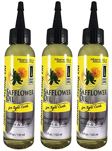 [NEW ARRIVAL PACK OF 3] Doo Gro Infusion Styling Safflower Oil for Tight Curls 4.5oz