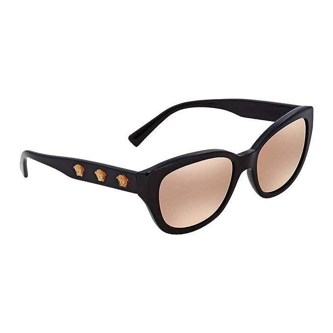 Amazon.com: Versace para mujer ve4343, negro, talla única ...