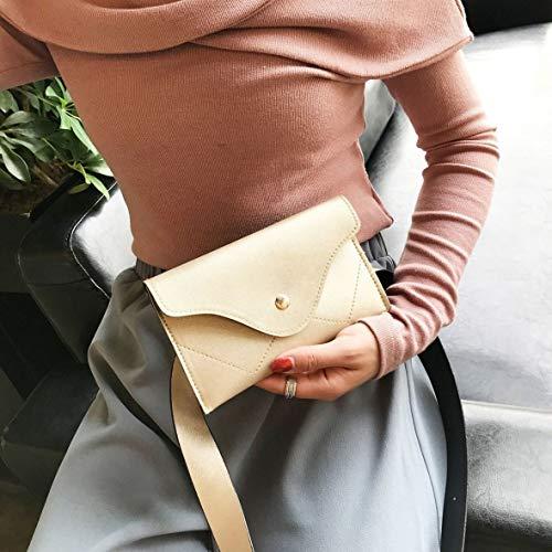 Borsa cellulare tracolla tracolla Borsa borsa a mano a tracolla a Fashion Heaviesk a Chiusura Gold per popolare Elegante 44xPwZ5qrH