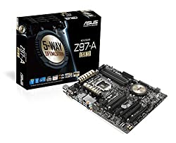 Asus Atx Ddr3 2600 Lga 1150 (10gbs) Motherboards (Z97-a)