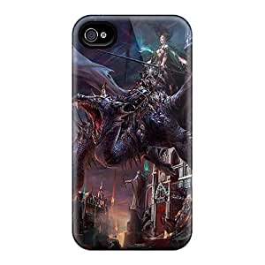 New Arrival Premium 4/4s Case Cover For Iphone (dragon)