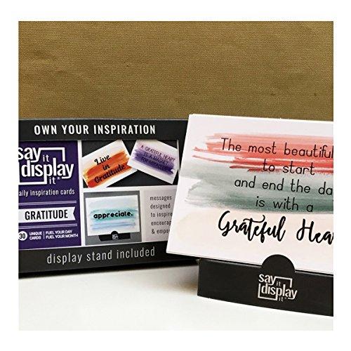 30 Gratitude Daily Inspiration Cards
