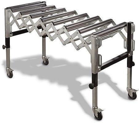 Metallkraft SRB 130 - Soporte extensible con rodillos: Amazon.es ...