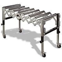 Metallkraft SRB 130 - Soporte extensible con rodillos