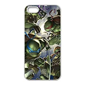 TMNT iPhone 5 5s White Cell Phone Case GSZWLW0546 Cell Phone Case Clear