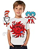 Dr Seuss Birthday Shirt, ADD any name and any age, Thing Birthday Party, FAMILY Matching Shirts, Thing Birthday Shirts, Dr Seuss Birthday Shirt, Thing Shirt, Thing