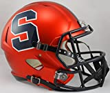 NCAA Syracuse Orange Full Size Speed Replica Helmet, Orange, Medium