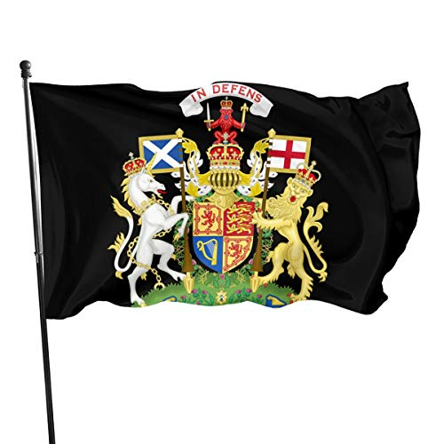HDHLB 1550px-Royal_Coat_of_Arms_of_The_United_Kingdom_(Scotland).SVG Flag 3x5 Ft- Featuring,Perfect for Indoor/Outdoor Use. (Royal Coat Of Arms Of The United Kingdom)