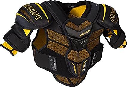 2ba4465f15d Image Unavailable. Image not available for. Color  Bauer Supreme TotalONE  MX3 Junior Hockey Shoulder Pads ...