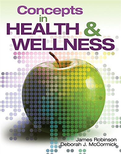 Concepts In Health and Wellness - The Book - Front Cover