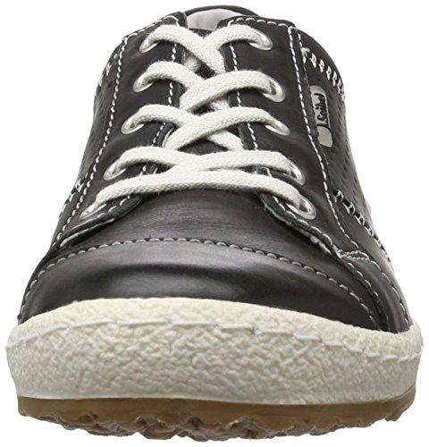 Josef Seibel Ladies Caspian Sneaker Black (nero)