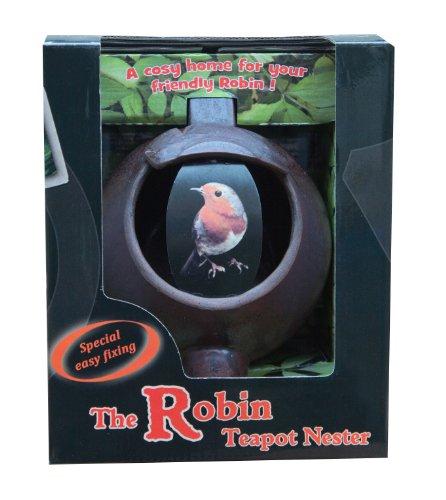 (Wildlife World Ceramic Teapot Bird Nester)