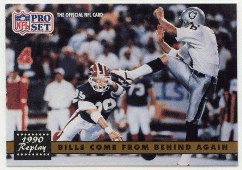 Steve Tasker  Football Card  1991 Pro Set   328B Error