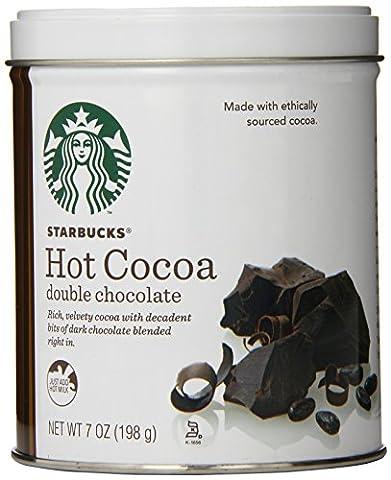 Starbucks Hot Cocoa, Double Chocolate, 7 Ounce