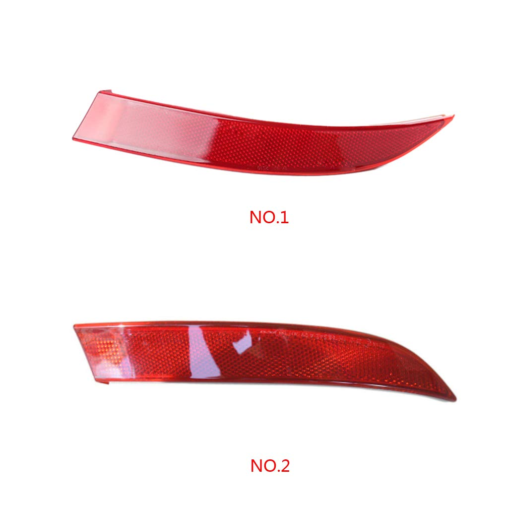 Lidahaotin Red Rear Right//Left Bumper Reflector Lens Light Replacement for BMW E70 2011-2013 63147240998 63147240997 red 1